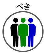集団の「べき」